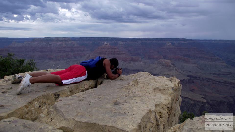 Io foto al Gran Canyon