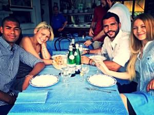 J, Giulia, Luke, Maryna