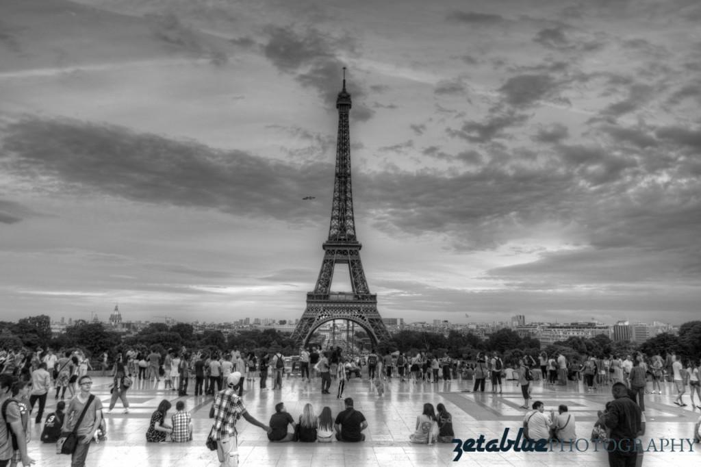 Tour Eiffel b&w