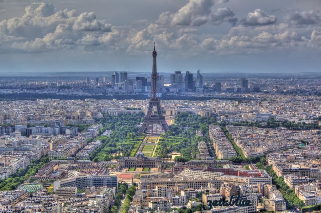 Paris viewed from Montparnasse